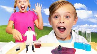 Download Sneaky Villain Tries to Take Secret Science Formula from Kids Fun TV! Video