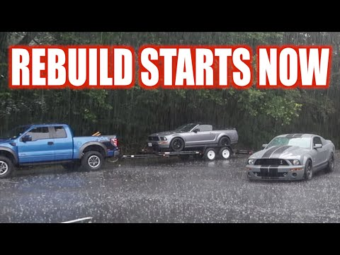 Rebuilding Mom's NEW MUSTANG GT After CRASH