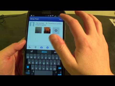 Uploading Photos to Facebook from Android Devices