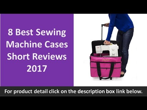 8 Best Sewing Machine Cases Short Reviews 2017 | Rolling Scrap Book Tote