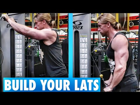 Build your LATS with Straight Arm Pulldowns   Exercise Tutorial