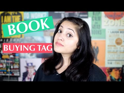 Book Buying Tag | How I Buy Books? | Indian Booktuber
