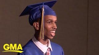 Non-verbal grad gives groundbreaking graduation speech  | GMA Digital