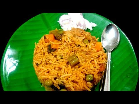 Vegetable Biryani in Tamil / Veg Biryani / வெஜிடபிள் பிரியாணி