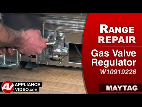 Maytag Range - Oven - Gas Valve Regulator - Diagnostic & Repair