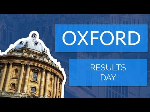 Applying to Oxford University: The Result