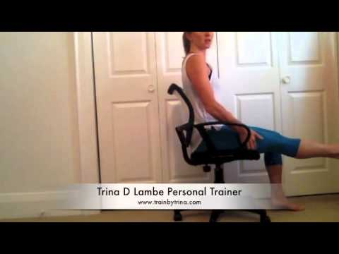Leg circulation in seated position