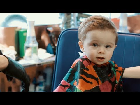 Twin Babies First Haircut at a Puerto Rican Barbershop