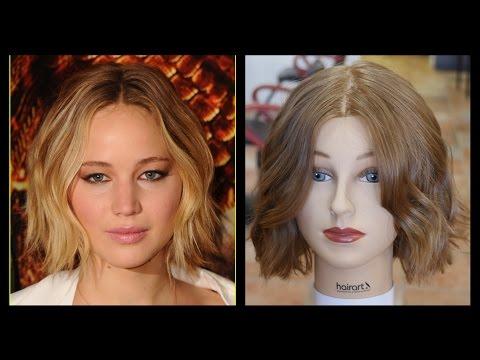 Jennifer Lawrence - NEW Haircut & Style Tutorial - TheSalonGuy
