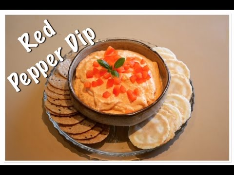 Roasted Red Pepper Dip/Spread