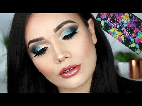 OMBRE TEAL SMOKEY EYE TUTORIAL | How To Deal W/ Bullies | TBT Urban Decay Electric Palette