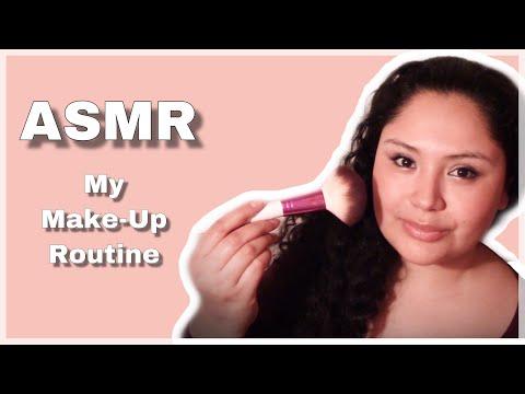 ASMR │My Makeup Routine │Soft Voice 💄