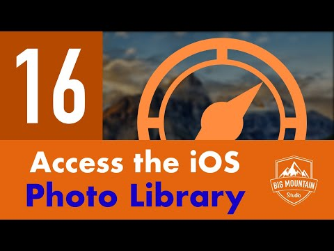 Access The Photo Library - Part 16 - Itinerary App (iOS, Xcode 9, Swift 4)