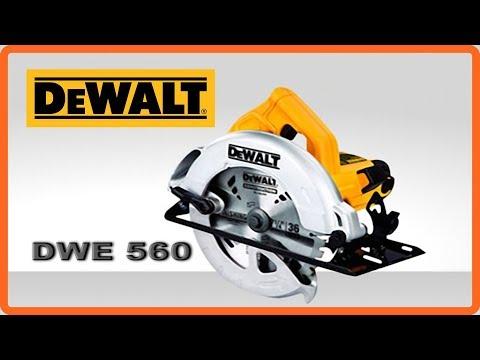 Unboxing Serra Circular Dewalt DWE 560