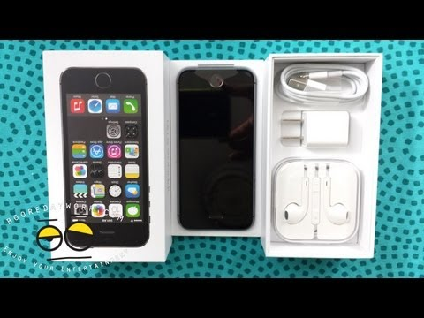 Unlocked Apple  iPhone 5S Unboxing