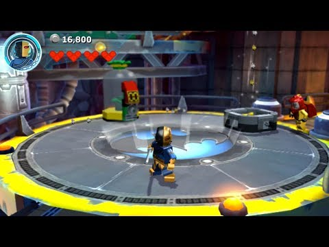 Lego Batman 3: Beyond Gotham (PS Vita/3DS/Mobile) Deathstroke Gameplay