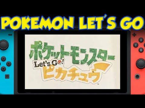 Pokémon Let's GO: Pikachu Version! SEREBII POKEMON SWITCH NEWS