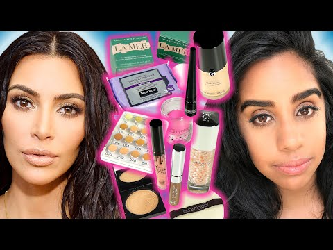 We Tried Kim Kardashian's Makeup Routine For A Week