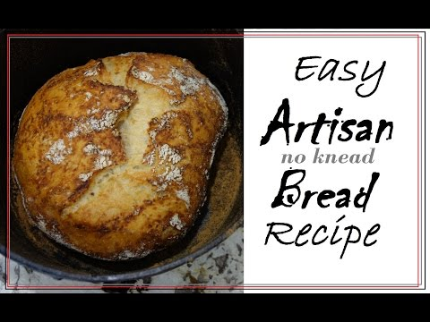 No Knead Artisan Bread | Easy How To Recipe & Gift Idea!