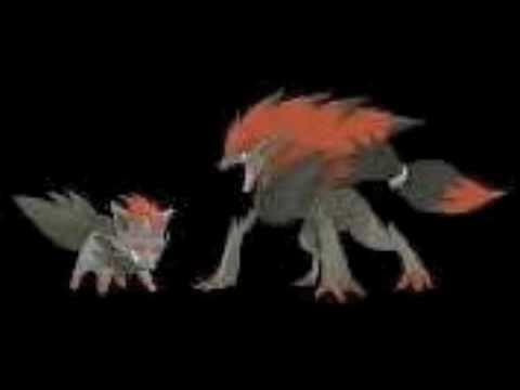 New Pokemon Zorua and Zoroark