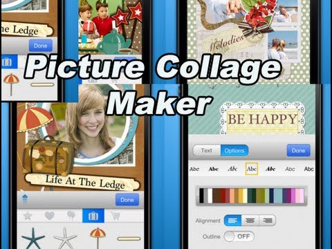 Picture Collage Maker iOS Review: Create Beautiful Memories Using iPhone, iPodTouch