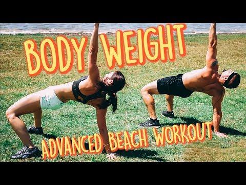 10-Min Follow Along Body Weight Beach WORKOUT | Episode IV