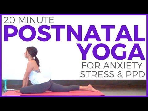 Postnatal Yoga for Stress, Anxiety, Tension & PPD  |  Postnatal Yoga Series