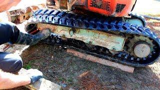 Kubota Excavator 121-3 Final Drive Oil Chage - PakVim net HD Vdieos