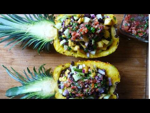 Solar Plexus Pineapple Salsa Boats | Fun, Simple, Tasty Recipe