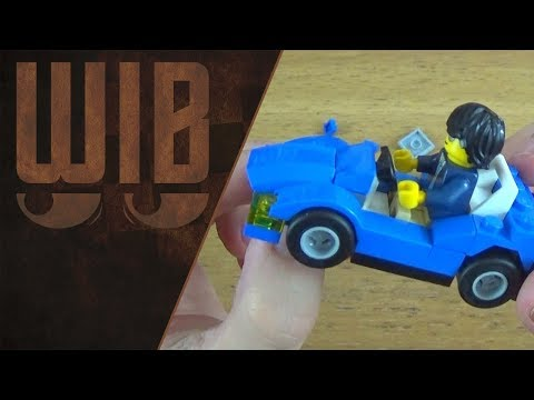 Wib Builds a Small Lego Sports Car