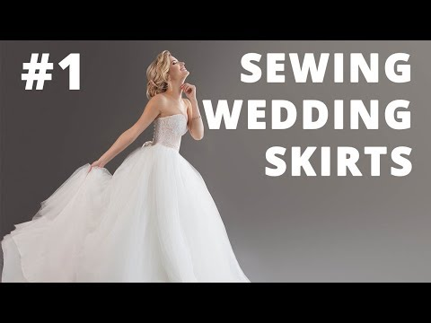 Sewing Wedding Skirts and Petticoats. DIY.