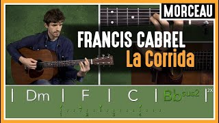Cours de Guitare : Apprendre La Corrida de Francis Cabrel