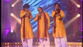 NFAK SONG savan ki bhigi raaton m sang by ALI GHANI PARIWAAR