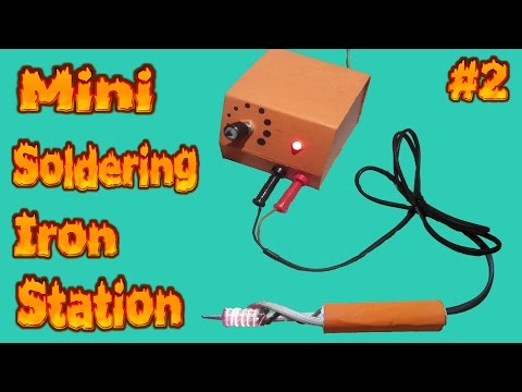How to make PWM Controller Mini soldering iron station Temperature control Part-2(PWM Controller)