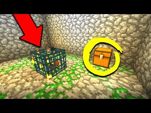 FINDING A INSANE DUNGEON CHEST IN MINECRAFT! (MCPE Realms Survival Ep. 2) w/ RageElixir