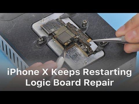 How To Fix iPhone X Keeps Restarting Logic Board Repair
