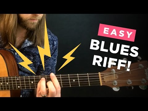 The most generic guitar lick EVER!? (easy blues & country riff)