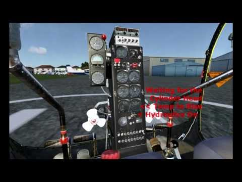 FSX:  Flying the Bell 47G Helicopter