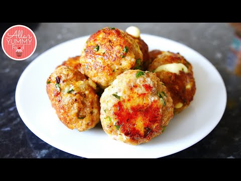 Homemade Meatballs | Cheesy Meatballs | Тефтели с сыром