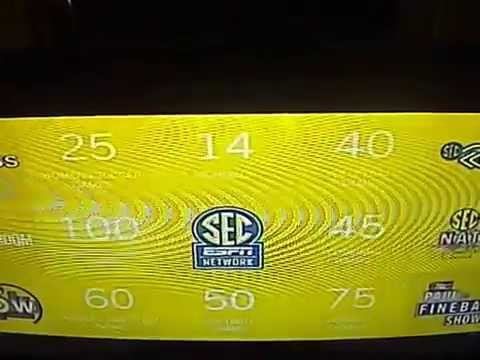 ESPN SEC Network Before The Network Launch Video 1