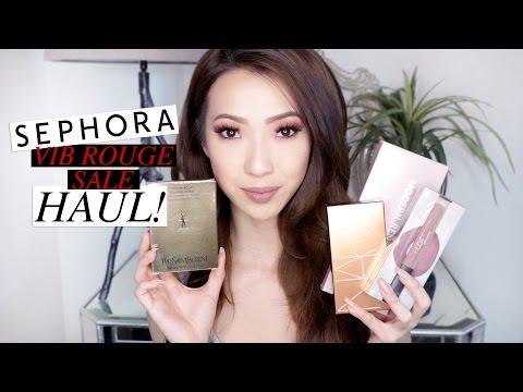Sephora VIB Rouge Sale HAUL! + Surprise Giveaway