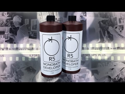 FASTEST  WAY TO DEVELOP BLACK AND WHITE FILM!!! NEW55 R5