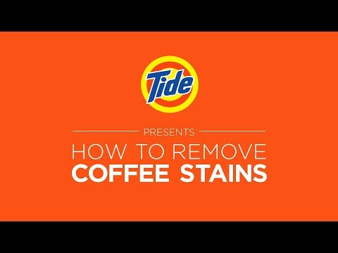 Tide | Laundry Tips: How to Remove Coffee Stains