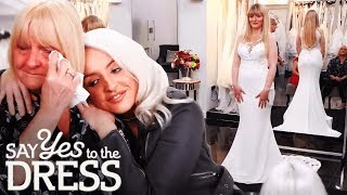 Bride Crushes her Insecurities and Tries on a Form-Fitting Wedding Dress | Say Yes To The Dress UK