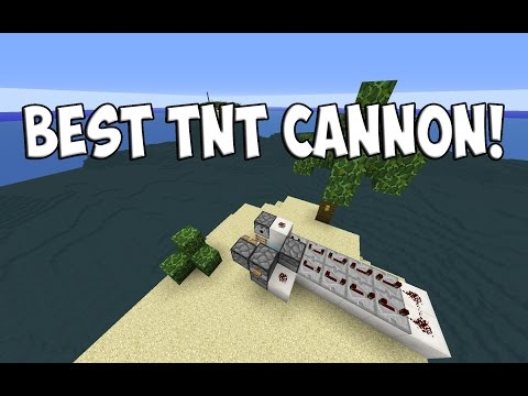 Best TNT Cannon In Minecraft!