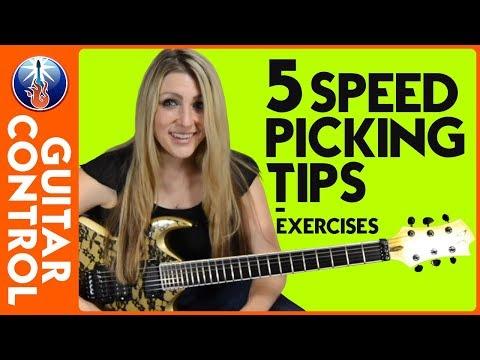 5 Speed Picking Tips - Speed Picking Exercises