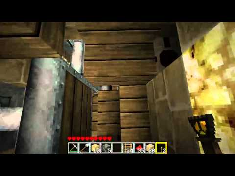 [Minecraft] Etho's Piston Elevator