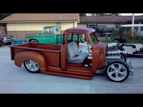 1955 Chevrolet First Series Pickup Truck Build Project