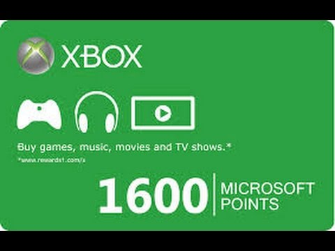 Free XBOX LIVE Points the secret way to get points free