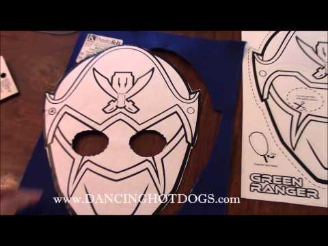Power Rangers Masks #PowerRangers